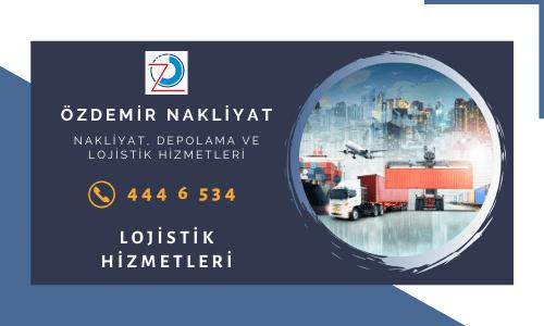 İstanbul'un lojistik hizmetlerinde adını duyurmuş olan Özdemir Nakliyat size lojistik destek sağlıyor.